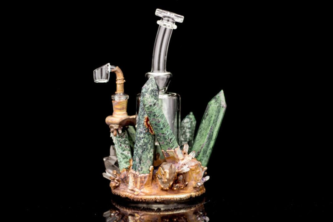 Celestial Electroformed water pipe