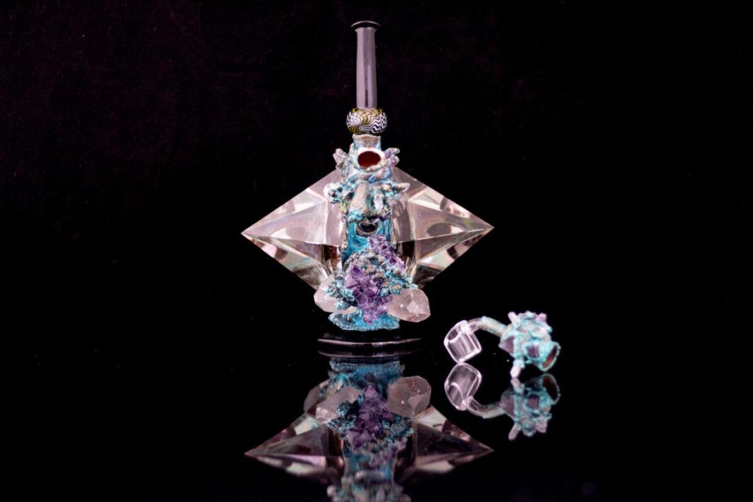 Luxor IV Electroformed water pipe